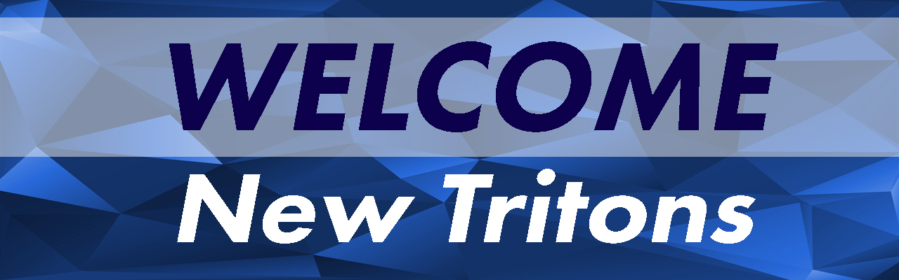 Welcome Tritons